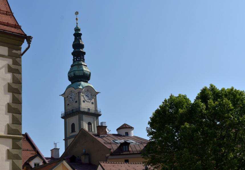 Typische Oostenrijkse kerken in Klagenfurt