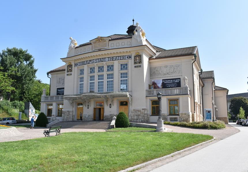 Het theater van Klagenfurt