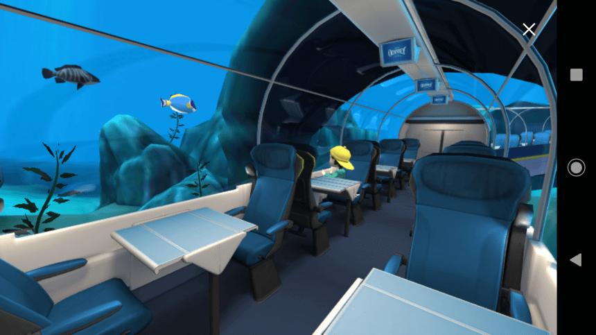 Eurostar Odyssey augmented reality app