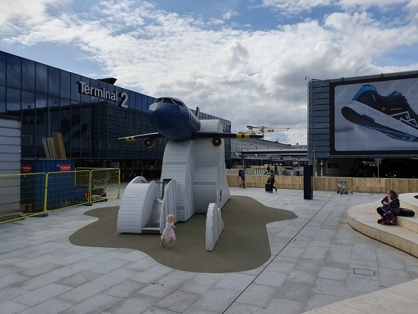 Luchthaven Kopenhagen speeltuin