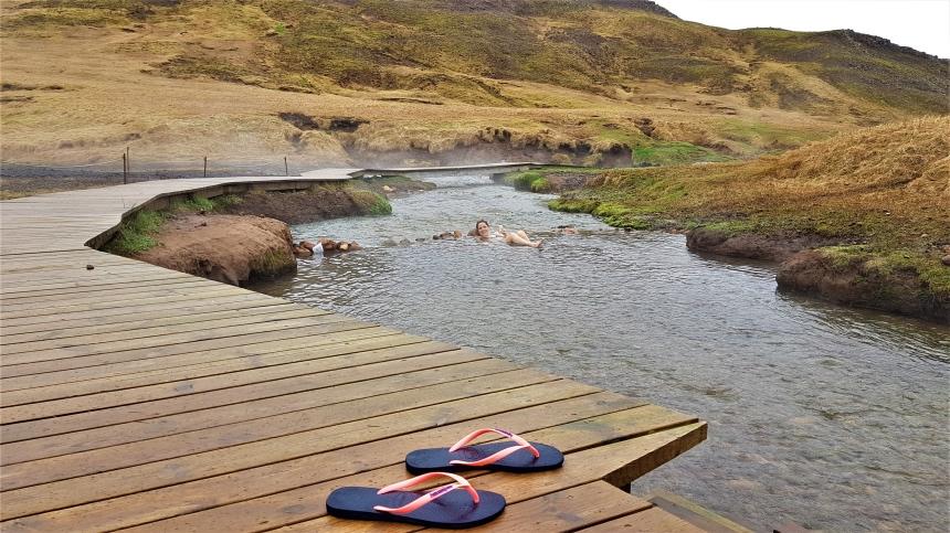 Riviertje in Reykjadalur