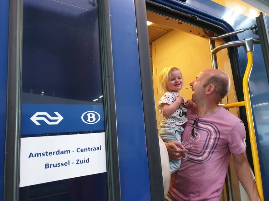 Intercity Direct naar Brussel-Zuid Midi