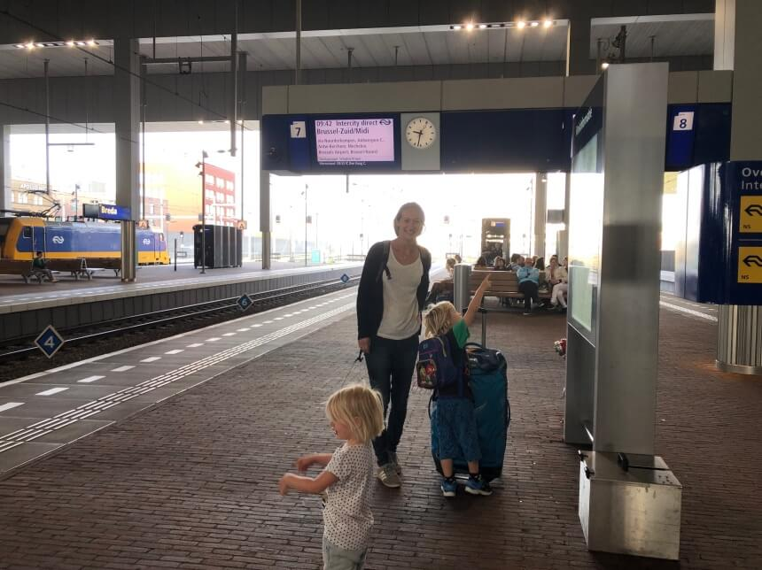 Kids op station Breda