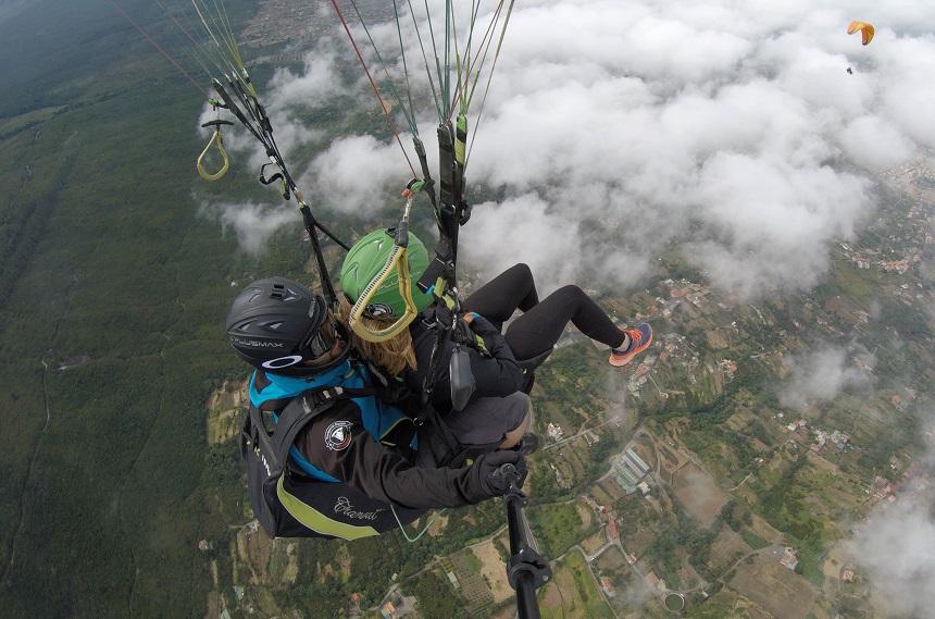 Tenerife paragliden activiteiten