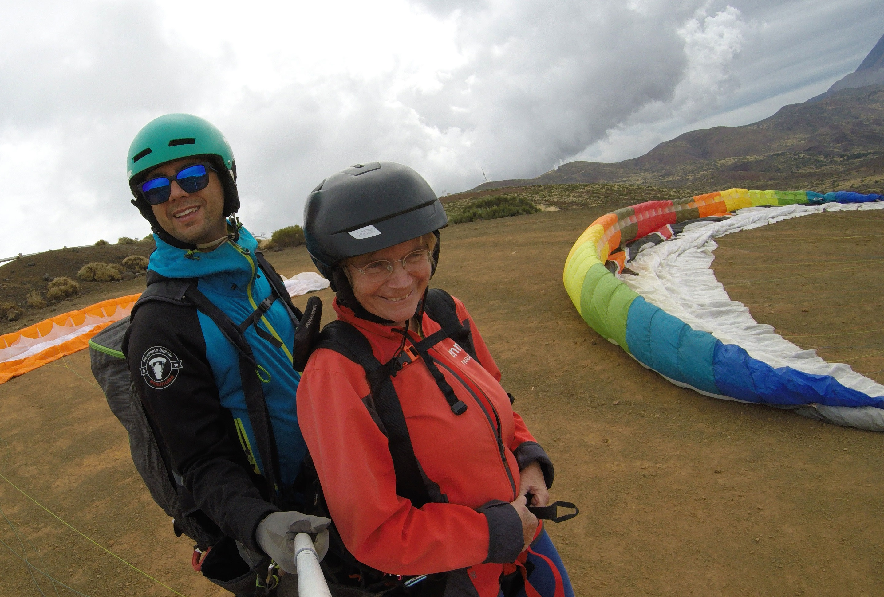 Tenerife paragliden parasailen