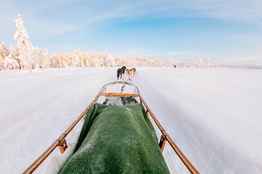 activiteiten in Lapland