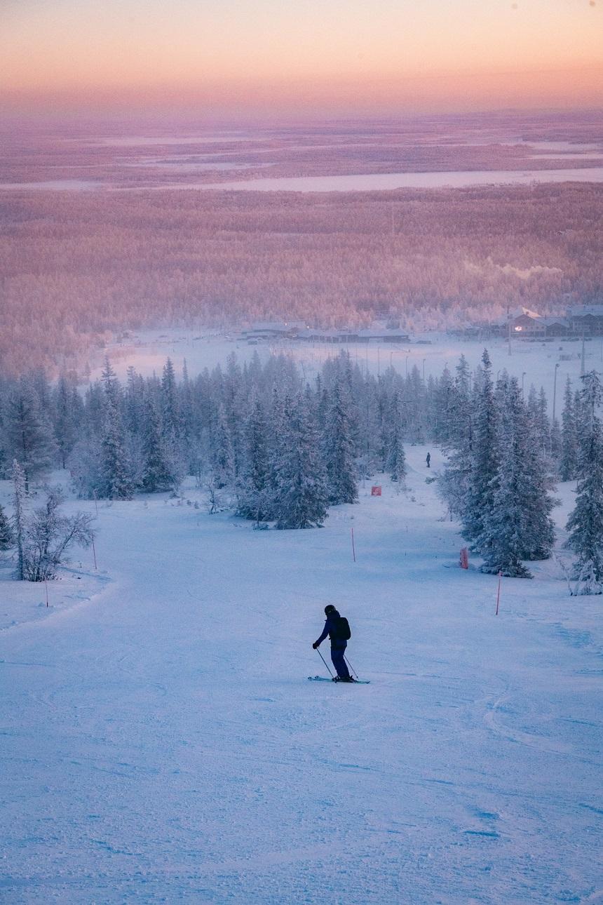 skieen activiteiten in Fins Lapland