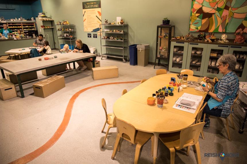Portland Children's museum - Clay Studio
