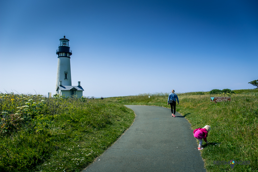 Yaquina Head Lighthouse Newport