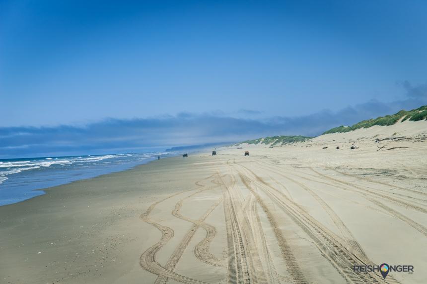 Florence trekt veel toeristen vanwege de buggy-ritten door de hoge duinen van Oregon Dunes National recreation Area