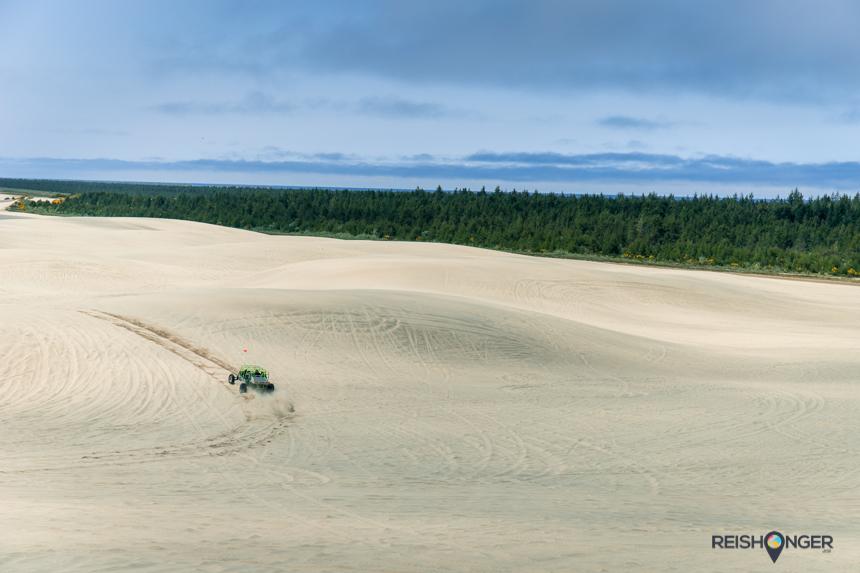 Dune buggy Honeyman Memorial State Park Oregon