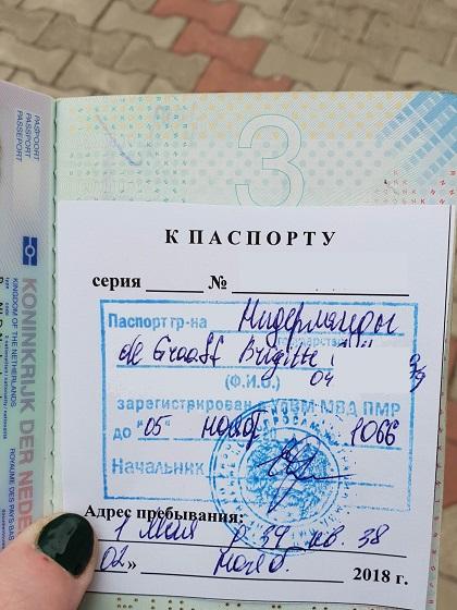 Transnistrië stempels