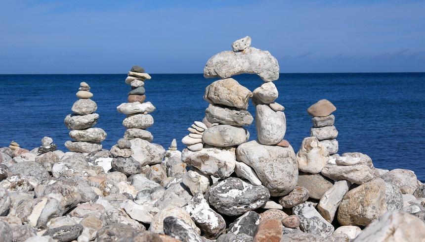 Een leuk kunst-project bij Klint. Heel meditatief.