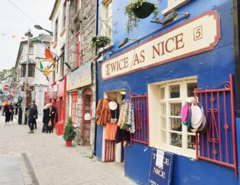 Galway; toeristische finesse in een hip jasje