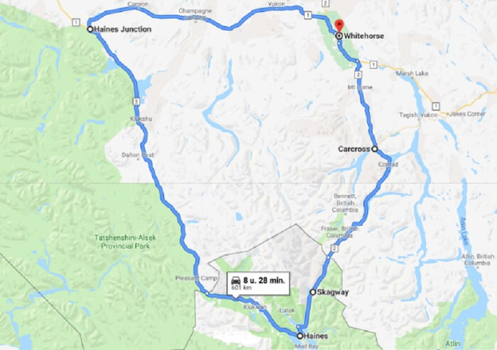 Roadtrip Yukon: de Golden Circle Route
