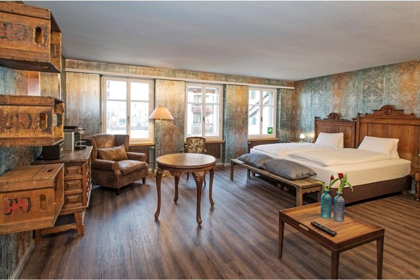Hotel2B bij de Schaffhausen Watervallen