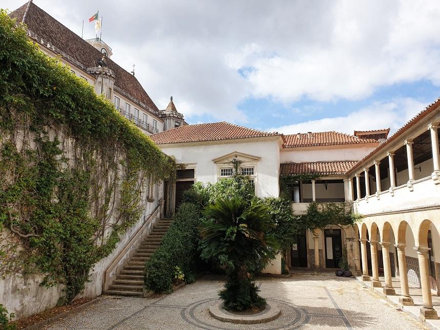 Tuin in Coimbra Portugal