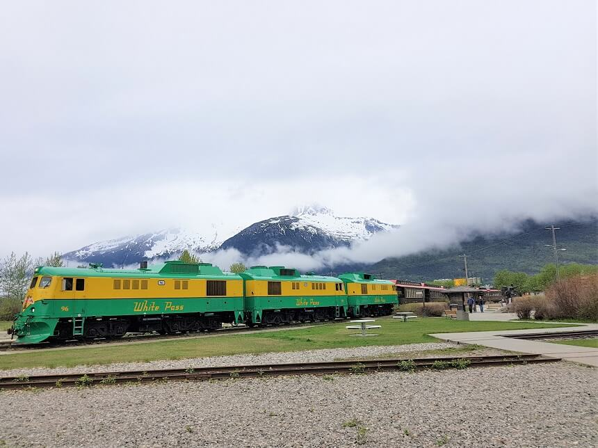 White Pass en Yukon Railroad