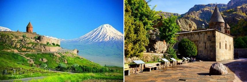 Ararat Berg en Geghard klooster