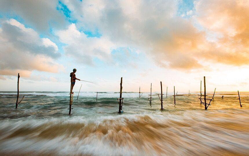 Reisshop reizen Sri Lanka - Hikkaduwa paalvissers