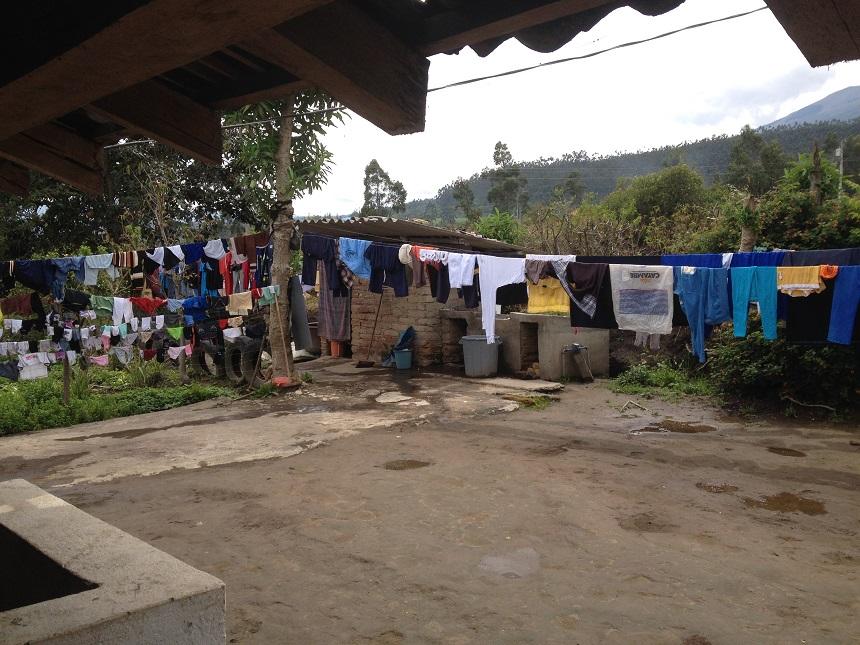 homestay in Ecuador