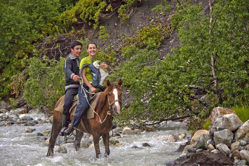 Paardrijden tijdens je Georgie rondreis