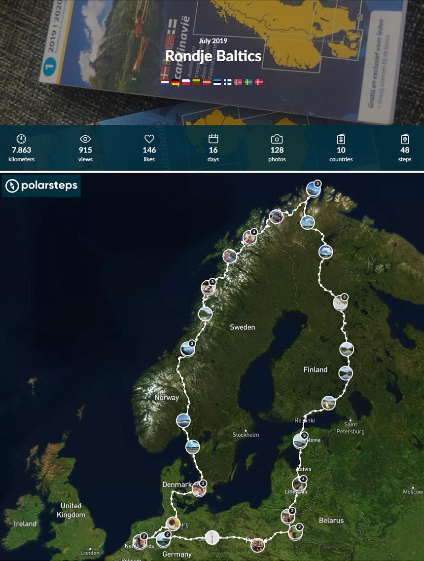Rondje Baltics - internetbundel buitenland