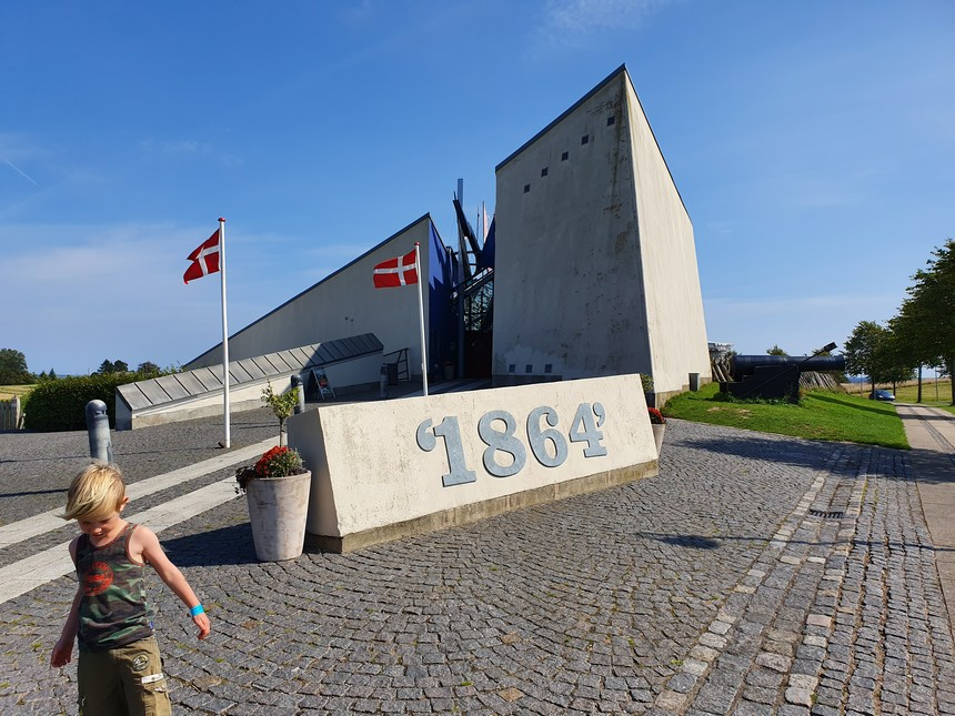 Beleef de geschiedenis in het Historiecenter Dybbøl Banke