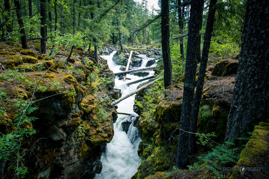 Natural Bridge Oregon