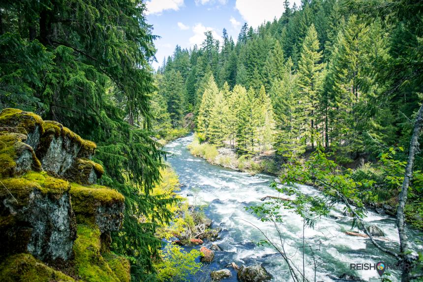 Rogue River Gorge Oregon