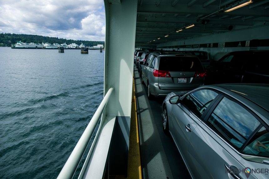 Ferry naar de Olympics