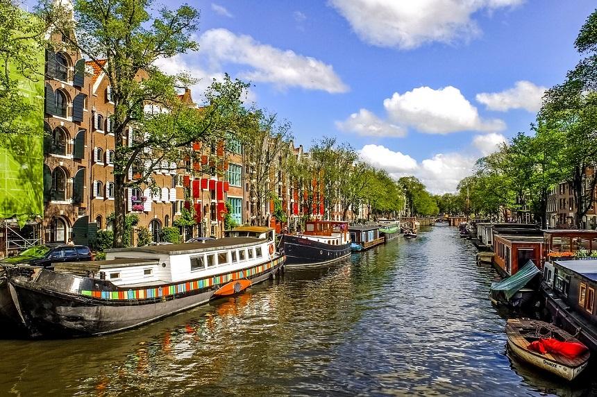 Amsterdam met de boot
