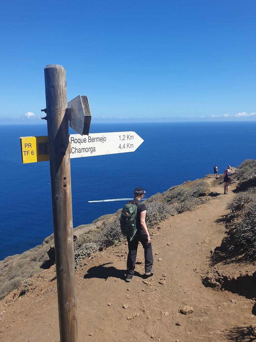 Chamorga op Tenerife