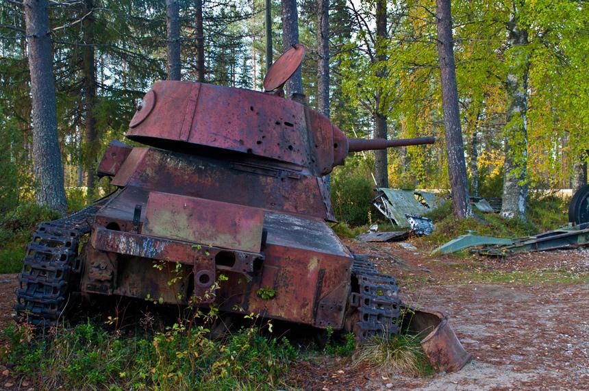 Winter War Museum Raatteen Portti, Oost-Finland