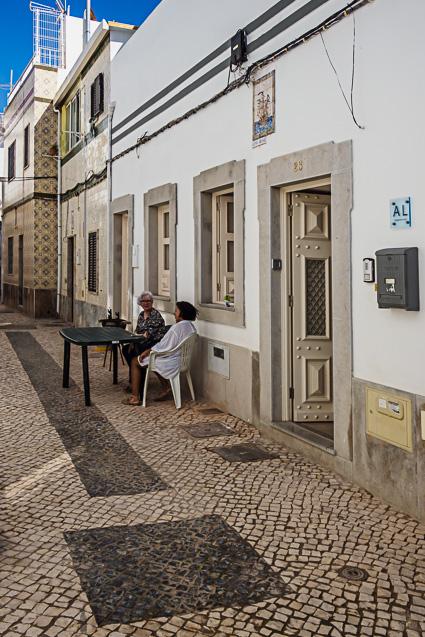 De straatjes van Olhao - een parel van de Algarve dit stadje