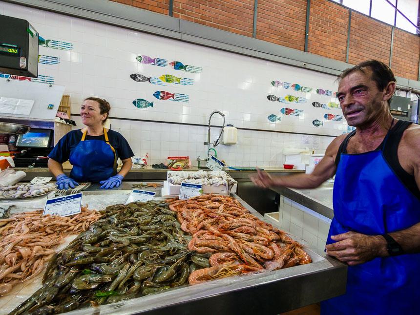 De vismarkt van Olhão