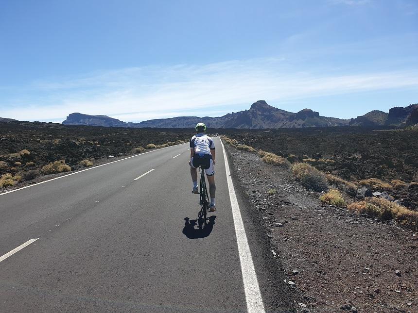 El Teide Tenerife racefietsen