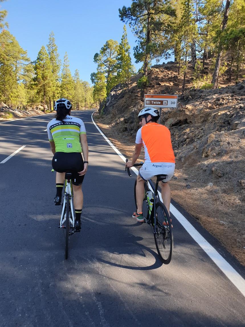 El Teide fietsen