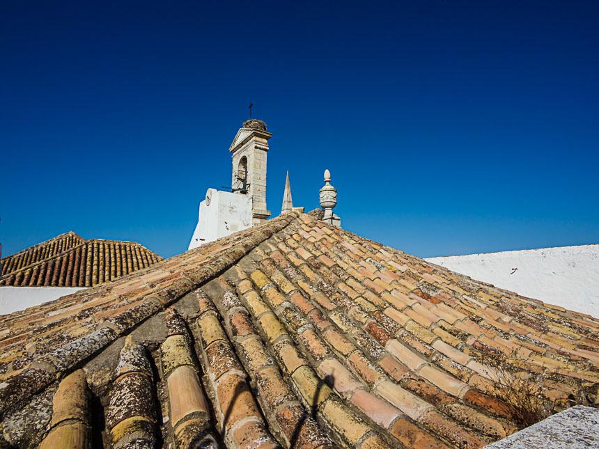 Faro - gezicht vanaf de Sé de Faro, de kathedraal van de Algarve