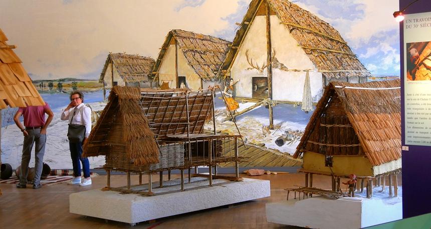 De prehistorische paalwoningen in de Jura zijn UNESCO erfgoed.
