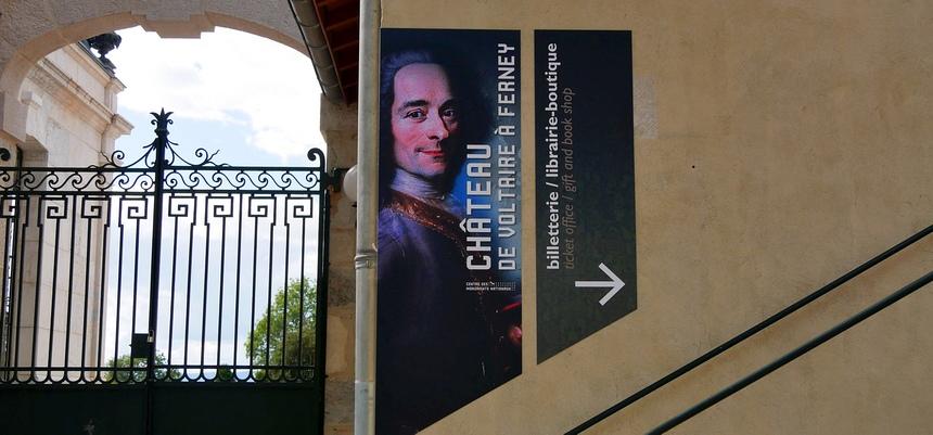 Het kasteel van Voltaire is een walhalla voor filosofen.
