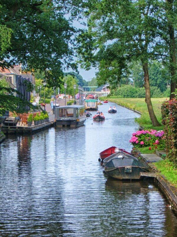 Nederland met de boot