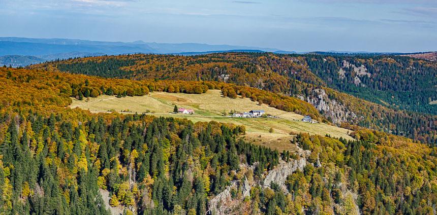 Uitzicht vanaf Hohneck