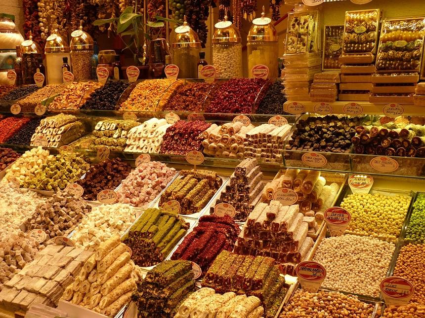 Grote Bazaar van Istanboel