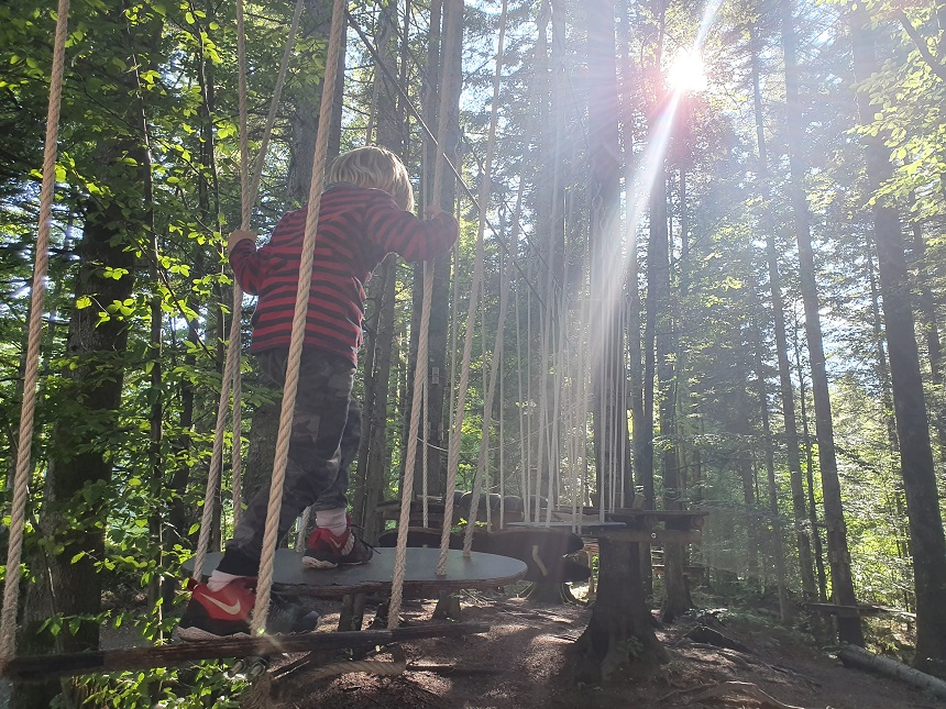 Nationaal Park Risnjak speelbos