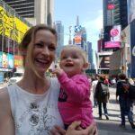 Verwondering op Times Square, New York