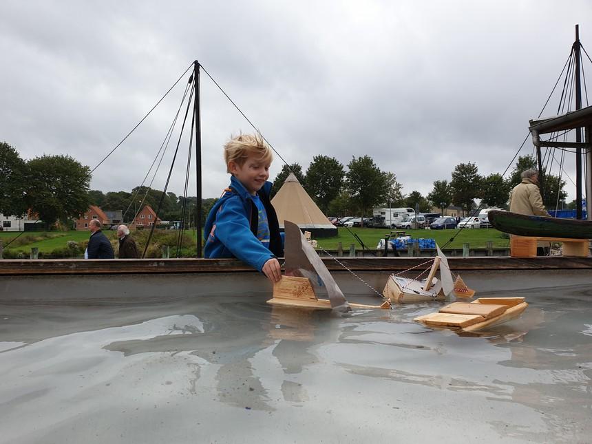 bouw je eigen Vikingschip in het Vikingeskibsmuseet in Roskilde