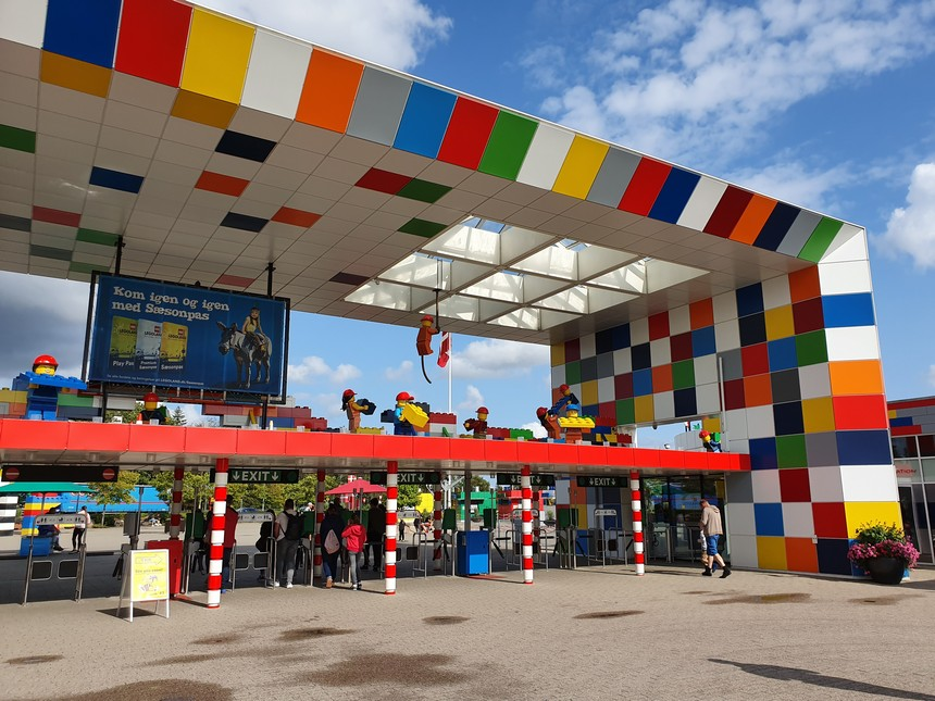 Nog zo'n topper op de lijst van leukste kids tips Denemarken: Legoland Billund