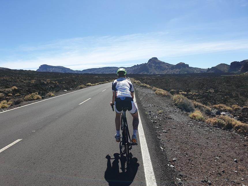 Racefietsen op Tenerife