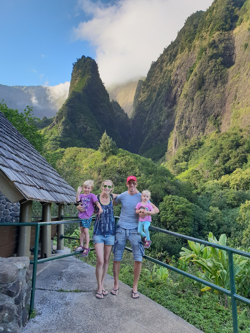 Iao Valley State Park Hawaï